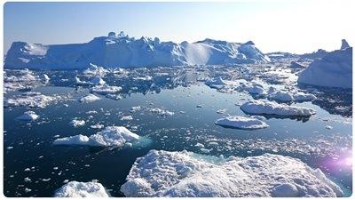 Ekstremofile bakterier som foretrækker kulde (psykrofile) kan leve i koldt vand.